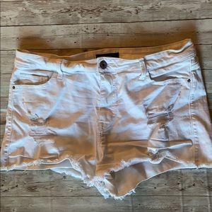 Stretch Cut-off Denim Shorts
